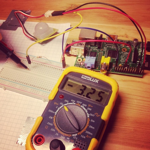 Bypass successful - testing with a multimeter and a self-made pull-up resistor.