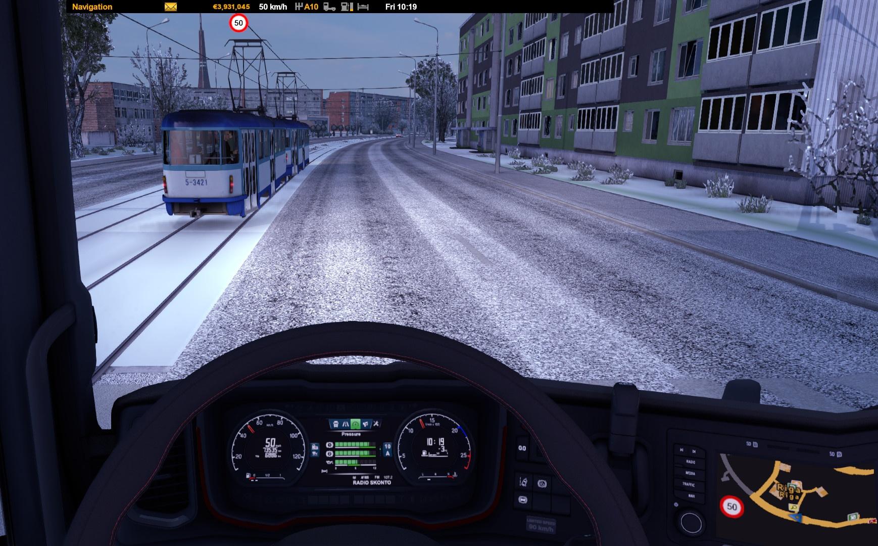 107.2 Radio Skonto in Euro Truck Simulator 2